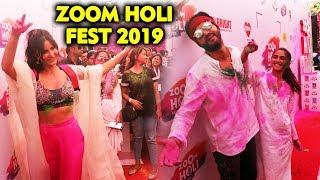 ZOOM Holi Fest 2019   Katrina Kaif Pranutan Zaheer Aayush Sharma, Amyra Dastur, Radhika