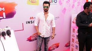 Aayush Sharma Holi Celebration At ZOOM Holi Fest 2019