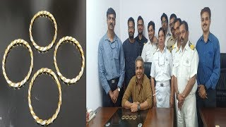 Lady Traveling From Sharjah Caught With Gold Bangles Worth 6.86 lacs
