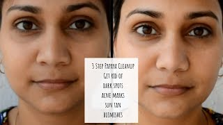 Get Rid of pigmentation, Dark Spots & Sun Tan | Anti Blemish Papaya Cleanup at Home | Nidhi Katiyar