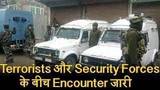Shopian और Baramulla में Terrorists की मौजूदगी पर चला CASO, Encounter जारी