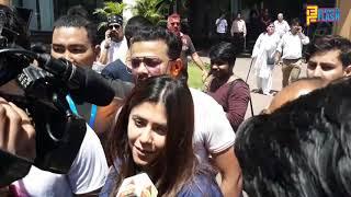 Holi Celebration 2019 At Celebration Club - Parth Samthaan, Vikas Gupta, Nia Sharma, Erica Fernandes