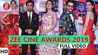 Zee Cine Awards 2019 | Ranbir KapoorAlia BhattRanveer Singh,Deepika Padukone | Full Show