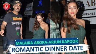 Spotted: Malaika Arora-Arjun Kapoor Walk Out Hand-In-Hand After Romantic Dinner Date