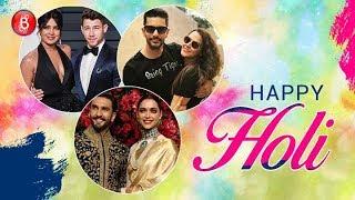 B-Town Celebs Celebrating First Holi After Marriage | Deepika Padukone | Sonam Kapoor | Neha Dhupia