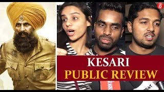 KESARI Movie Public Reactions | Akshay Kumar  Parineeti Chopra