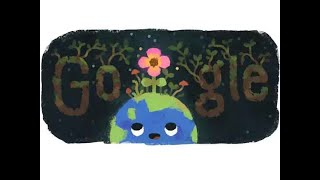 Google marks spring equinox with a doodle