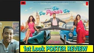Ajay Devgn Starrer De De Pyaar De 1st Poster Look REVIEW