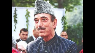 J-K- Congress seals alliance with NC, says Ghulam Nabi Azad