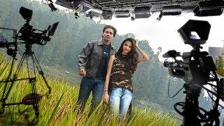 Movie Shoot At Ramoji Film City Hyderabad | फिल्मों में ऐसे शूट होते हैं गाने | Retake के बाद Retake