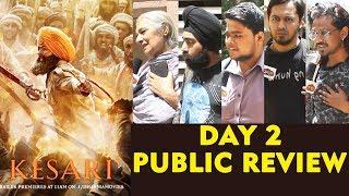 KESARI PUBLIC REVIEW | DAY 2 | HOUSEFULL Theatre | Akshay Kumar, Parineeti Chopra