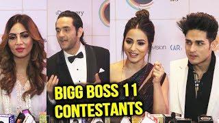 Bigg Boss 11 Contestant Together   Hina Khan, Vikas Gupta, Priyank Sharma, Arshi Khan