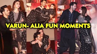 Alia Bhatt & Varun Dhawans Fun Moments | First Class Song Launch | Kalank