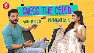 Guess The Celeb: Notebook Stars Zaheer Iqbal & Pranutan Bahl's AWKWARD Expressions Are Too Funny
