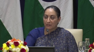 Media Briefing by Secretary (East) on upcoming visit of  President to Croatia, Bolivia and Chile