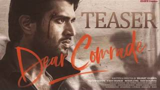 Dear Comrade Teaser | Vijay Deverakonda | Rashmika | Abhijith P S Nair | Violin Cover