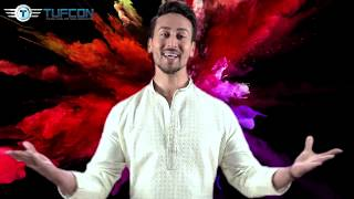 Tiger Shroff Wishes Happy and safe Holi  from Tufcon Family