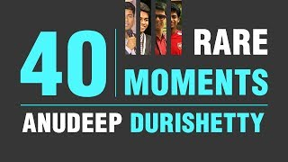 "40 RARE MOMENTS OF ANUDEEP DURISHETTY"" (AIR 1, 2017-18 ) | Satya Bhanja"