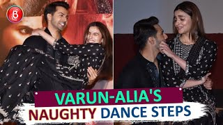 UNCUT: Varun Dhawan & Alia Bhatts NAUGHTY Dance Steps At 'First Class' Song Launch