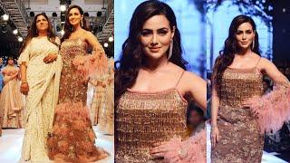 Sana Khan Ramp Walk At Bombay Times Fashion Week Spring Summer 2019
