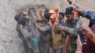 #Haryana : बोरबेल में गिरे बच्चे को 48 घंटे बाद सुरक्षित बाहर निकाला गया - BRAVE NEWS LIVE