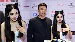 Anu Malik And Daughter Ada Malik At Bombay Times Fashion Week Spring Summer 2019