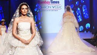 Mandana Karimi Ramp Walk At Bombay Times Fashion Week Spring Summer 2019