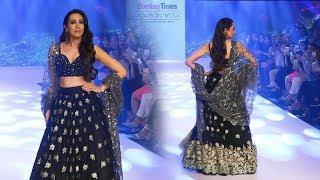 Karisma Kapoor Ramp Walk At Bombay Times Fashion Week Spring Summer 2019
