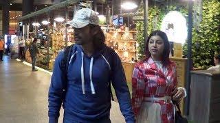 Gurmeet Choudhary And Debina Bonnerjee Spotted At Mumbai Airport