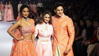 FULL VIDEO - Gorgeous Hina Khan And Handsome Hunk Priyank Sharma SHOWSTOPPER At BT Fashion Week 2019