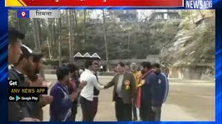 शिक्षा मंत्री सुरेश भारद्वाज ने युवाओं के साथ खेला क्रिकेट || ANV NEWS  SHIMLA - HIMACHAL PRADESH