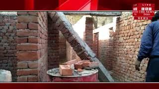 [ Rajasthan ] निर्माणधीन कॉम्प्लेक्स का लेंटर गिरा, बड़ा हादसा होने से टला / THE NEWS INDIA