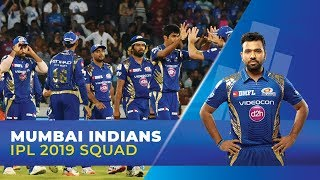IPL 2019- Mumbai Indians Squad (MI) | Rohit Sharma to lead | Yuvraj Singh in the middle-order