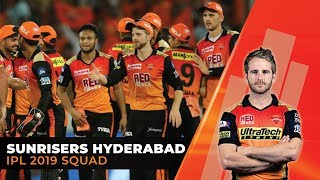 IPL 2019- Sunrisers Hyderabad (SRH) Full Squad | Kane Williamson to captain