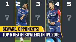 IPL 2019- Top 5 death bowlers in the tournament | Jasprit Bumrah & Boult in the list