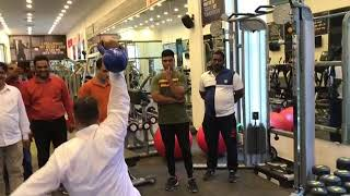 Asad owaisi | Doing GYM In Hyderabad Old City | DT NEWS
