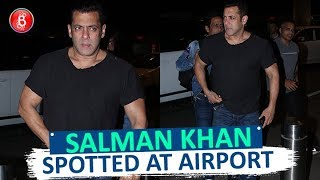 Salman Khan SPOTTED At Airport As He Leaves For Saudi Arabia