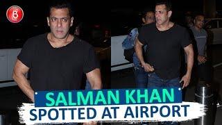 Salman Khan SPOTTED At Airport As He Leaves For Saudi Arabia