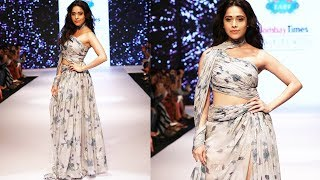 Stunning Nushrat Bharucha Walks The RAMP At Bombay Times Fashion Week Spring Summer 2019