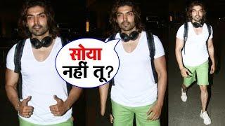 Handsome Gurmeet Choudhary Spotted At Mumbai Airport