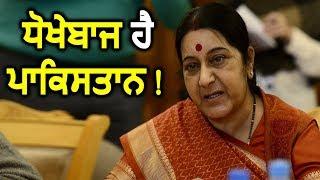 Pakistan करता हैं Terrorist का सम्मान : Sushma Swaraj