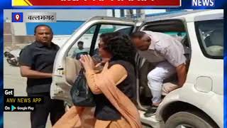 कर्मचारियों की बाल-बाल बची जान || ANV NEWS  BALLABGARH -HARYANA