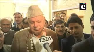 LS polls- Farooq Abdullah files nomination from Srinagar