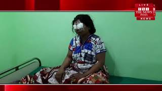 [ Jhansi ] पारिवारिक विवाद के चलते पति ने पत्नी की आंखों और हाथ पर चाकू से किया हमला