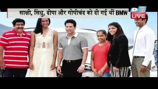 DB LIVE | 30 AUGUST 2016 | shobha de target over bmw cars for rio champions