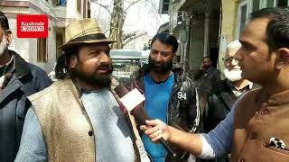 Panthers Party leader after filling nomination form for Parliament Elections