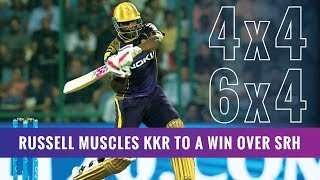 IPL 2019- Match 2, KKR vs SRH- Andre Russell takes his team home
