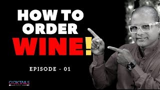How to Order WINE? in Hindi | How to Order WINE at a BAR | WINE Order Tips  | Dada Bartender
