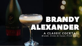 How to make Brandy Alexander Classic Cocktail | In Hindi | Classic Cocktail | Dada Bartender