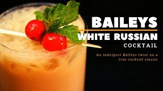 How to make cocktail Baileys White Russian | Two minutes Cocktail | White Russian  | Dada Bartender